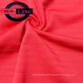 Novo design de estilo 100 poliéster dry fit fio malha horizonte jersey tecido para sportswear