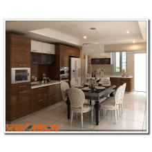 Empresas atacadistas chinesas armário de cozinha laminado / contraplacado laminado mobiliário de armário de cozinha / papel laminado para cozinha