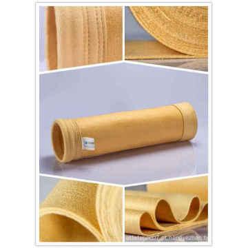 Sacos de filtro de poeira de alta temperatura