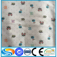 100 cotton printed baby flannelette fabric
