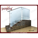 Indoor Steel-Glass Stair Handrail (DMS-26180)