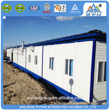 2016 new product pu sandwich panel prefab bathroom shower room container houses