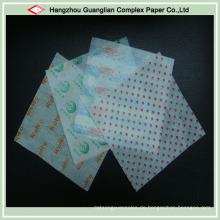 Food Grade Greaseproof Papier für die Verpackung