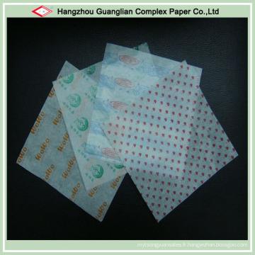 Papier sulfurisé de qualité alimentaire pour l'emballage