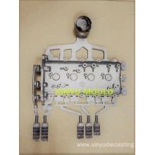 Automobile Engine cylinder head cover HPDC die