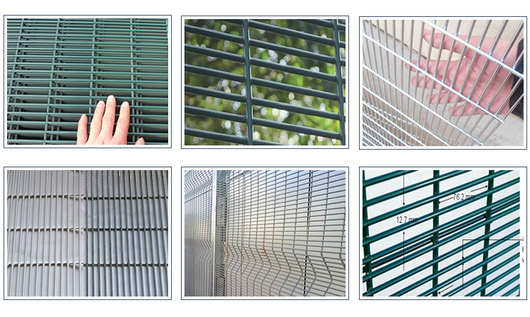 PVC Coated Clear View Fence