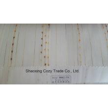 Новый популярный проект полоса Organza Voile Sheer Curtain Fabric 008277