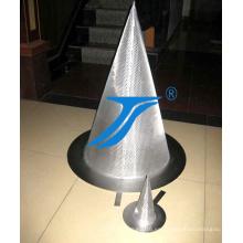 Filtro de disco de malla de alambre de acero inoxidable perforado