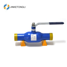 gas pipeline steel 20 gost standard fully welded ball valve with RF flange connection