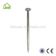 Feuerverzinkter Stahl Q235 für Solarmodulmontage Bodenschraube