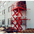 electric cargo lift platform, warehouse goods lift, cargo elevator