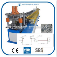 YTSING-YD-4298 Passed CE PLC Control Galvanized Stud and Track Roll Forming Machine, Stud and Track making Machine