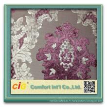Modèle de rideau de salon, rideau de vente en gros, tissu de rideau jacquard