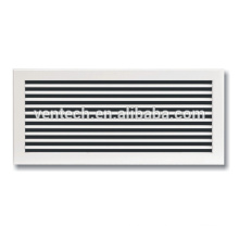 single way grille Aluminum Single Deflection Grille