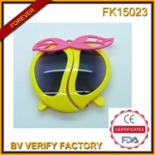 Óculos de sol de pêssego forma dos desenhos animados para crianças (FK15023)