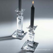 Decoración cristalina de la vela de la boda del candelabro de la manera, sostenedor de vela (JDNE-125)