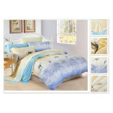 40 * 40s 133 * 72 impresión reactiva Purebest 100% tencel conjunto de hoja de cama