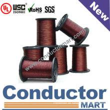 China Best seller esmaltado alambre alambre de la bobina motor UL certificado clase 200