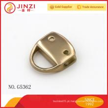 JZ Metal latão liga de zinco hardware chinês para bolsas