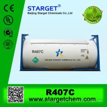 Mezcla de gas R407c a la venta en ISO TANK