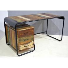 Retro Industrial Writing Desk