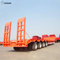 4 Axles Heavy Duty 100T LowBed Trailer