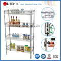 NSF Approval 4 Tiers Chrome Mesh Kitchen Basket Rack