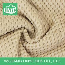 Tissu en velours côtelé en polyester massif pour siège auto