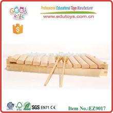 Деревянные игрушки для детей 12 Tone Log Xylophone 2015 Музыкальные инструменты