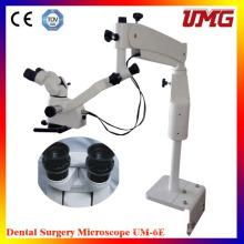 Equipamento médico do dentista Microscópio operatório dental