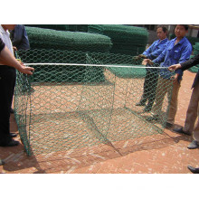 ISO 9001: 2008 Fabricant Hot-DIP Galvanized Gabion Box
