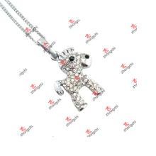 Fashion Circus Animal Horse Charms Pendentif Cadeau Collier Cadeaux (JDE60128)