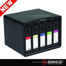 """ORICO PHB35-5 5 bay HDD protector, caja, caja de almacenamiento del recinto HDD protección 3.5 """"disco duro hdd caso"""