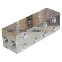 CNC Custom Made Steel Hydraulic Manifolds