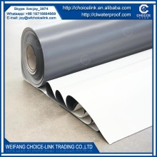 for underground homogeneous PVC waterproof membrane