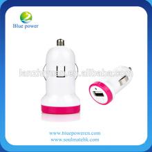 2013 Preço mais barato 5 V 1 Um carro elétrico colorido carregador de bateria de carro para telefones inteligentes