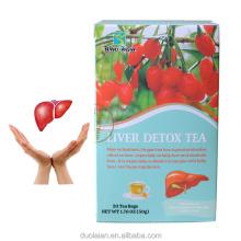 Private label Winstown liver Supplement Organic Cleanse liverTea Liver Detox tea