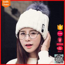 Sombrero modificado para requisitos particulares vendedor caliente del invierno de las señoras