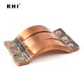 O melhor material laminou o conector de alimentação elétrica de cobre do barril / barramento flexível