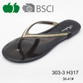 Cheap Lady Flat Innovative Design Pvc Flip Flops Slippers