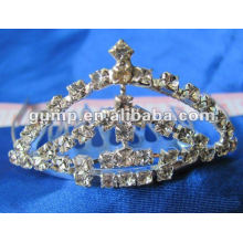 Crstal tiara comb (GWST12-100)