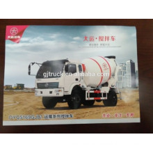 4X2 drive Dayun cement mixing truck for 3-6 cubic meter