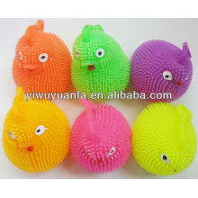 Animal Flashing Yoyo Glow Puffer Ball Toy