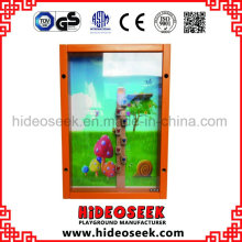 ASTM Standard Wooden Play Board on Wall