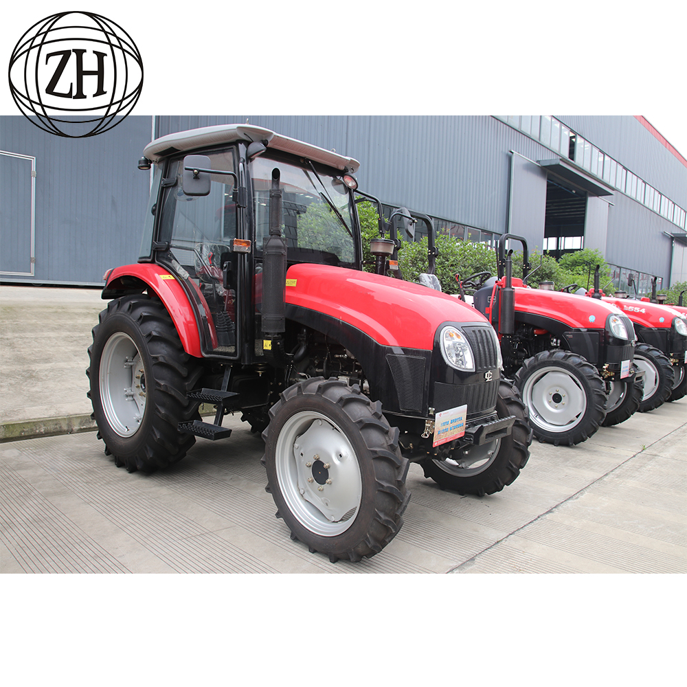 Hot Sale 4 Wheel Drive Traktor Pertanian 70hp 90hp 130hp