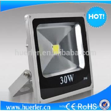 Shenzhen ip66 luz de inundación al aire libre 30w 12v llevó proyector