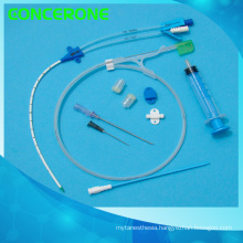 Double Lumen Catheter Set for Hospital Use