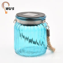 Various models factory supply solar powered led hanging glass buoy lights