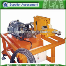 Hydraulic post-tensioning strand pusher equipment