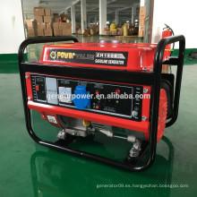 China Pequeño Dynamo eléctrico, generador eléctrico de la gasolina 1kv 1kv, generador del honda del silenciador 1kw
